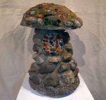 1940's Garden Folk Art Mushroom