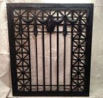 1920's Cast Iron Hinged Grill